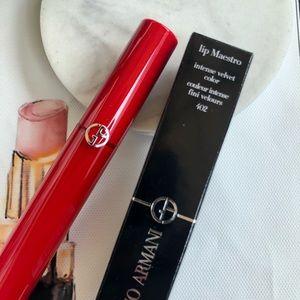 Giorgio Armani Lip Maestro Intense Velvet Lipstick